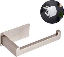 Stainless Steel Toilet Tissue Holder Half Open