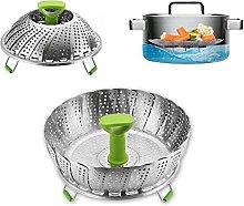Stainless Steel Vegetable Steamer Basket -