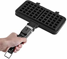Stainless Steel Waffle Maker, Convenient Non-Toxic