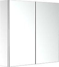 Stainless Steel Wall mounted Bathroom Mirror