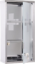 Stainless Steel wall mounted Medicine Cabinet w/ 2