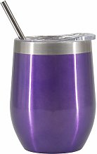 Stainless Steel Wine Cup 2 Layers Vacuum Insulated