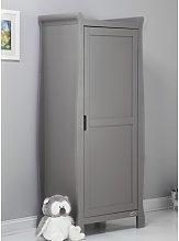 Stamford 1 Door Wardrobe Obaby Colour: Taupe Grey