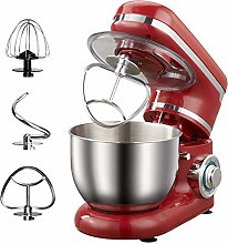 Stand Mixer Red Tilting Head Kitchen Food Mixer