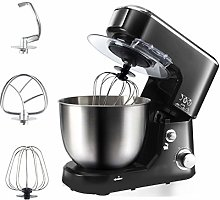 Stand Mixer with 6 Speeds, Removable 5L Stainless