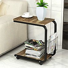 Stand Up Lectern Sofa Side Table,C shaped Snack