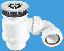 Standard Shower Trap with 85mm Chromed Plastic