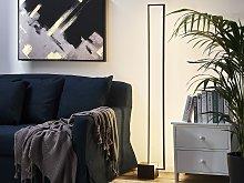 Standing Lamp Wooden Dark Wood Floor Lamp Lining