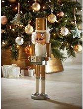 Standing Wooden Nutcracker Advent Calendar