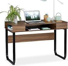 Stanek Writing Desk Mercury Row Tabletop/Frame