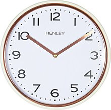 Stanford 25cm Wall Clock Henley Colour: