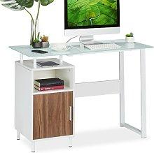 Stanger Writing desk Mercury Row Colour: White