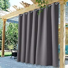 StangH Extra Wide Outdoor Curtains - Outdoor Patio