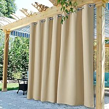 StangH Patio Outdoor Curtain Panels - Extra Wide