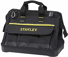 STANLEY 600 Denier Open Mouth Tote Tool Bag,