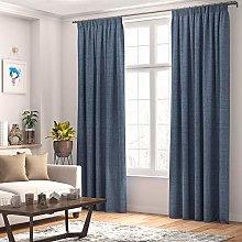 Stanley Hamilton Curtains Faux Linen, Thermal