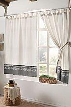 Stanley Hamilton Curtains, Tab Top Heading, Room