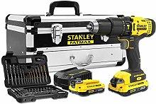 Stanley Kit V20: Hammer Drill + Set of 50