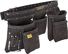 STANLEY Leather Tool Belt Pouch Apron,