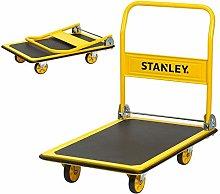 Stanley Steel Platform Truck-300KG, Yellow,