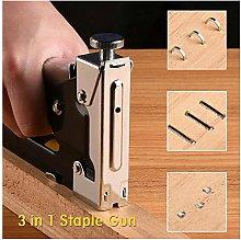 Stapler Nail Steel Gun Kit Upholstery Stapler
