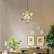 Star All-Copper Chandeliers Nordic Creative