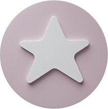 Star Door Knob Lorena Canals Colour: Pink / White