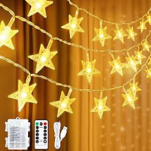 Star Fairy Lights USB Operated Or Battery