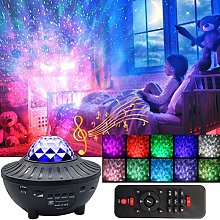 Star Light Projector,10 Colors Changing Night