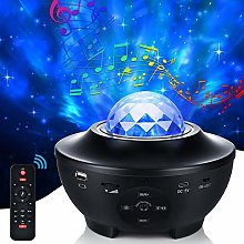 Star Light Projector, 21 Modes LED Rotating Star