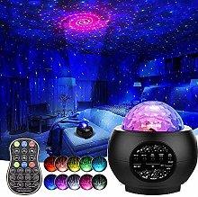 Star Night Light Projector,3 in 1 Galaxy Light