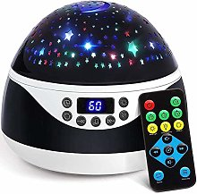Star Projector Night Light with Music, Starry Sky
