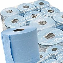 STAR SUPPLIES 48 x BLUE ROLL 2Ply centrefeed