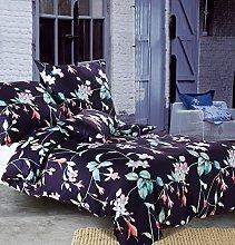 Star Tent Fiona Cotton Bed Linen, Cotton, blue,