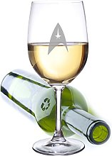 Star Trek Extra Large Wine Glass- Holds an Entire