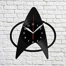 Star Trek Vinyl Record Wall Clock Home Decor Wall