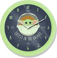 Star Wars Baby Yoda Wall Clock