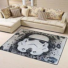 Star Wars Mandalorian Area Rug Floor Rugs Living
