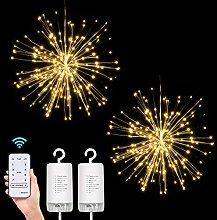 Starburst Lights,Hanging Fireworks Fairy String