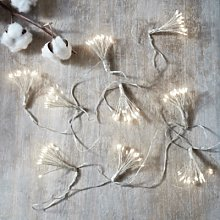 Starburst String Lights, Clear, One Size