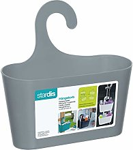 Stardis Shower Basket Blue with Hooks for Hanging
