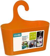 stardis Shower Basket Orange with Hook Hanging