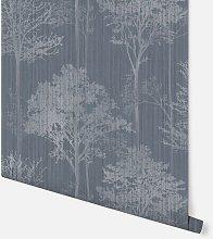 Stardust Tree Chalk Blue Wallpaper 296101 -
