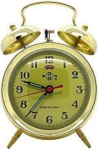 Starlet24 17 cm retro bell alarm clock, mechanical