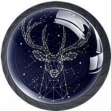 Starlight Elk Crystal Drawer Handles Furniture