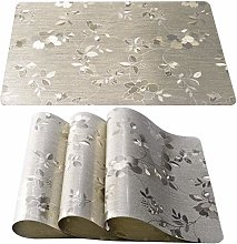 Starlight&Infinity Placemats Set of 4 Wipe Clean