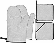 Starodec Heat Resistant Oven Mitts and Pot Holders