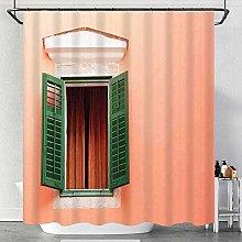 Starodec waterproof Shower Curtain,Mediterranean