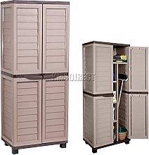 Starplast Outdoor Plastic Garden Utility Cabinet