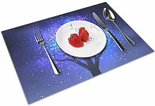 Starry Sky Insulation Heat Resistant Table Mats